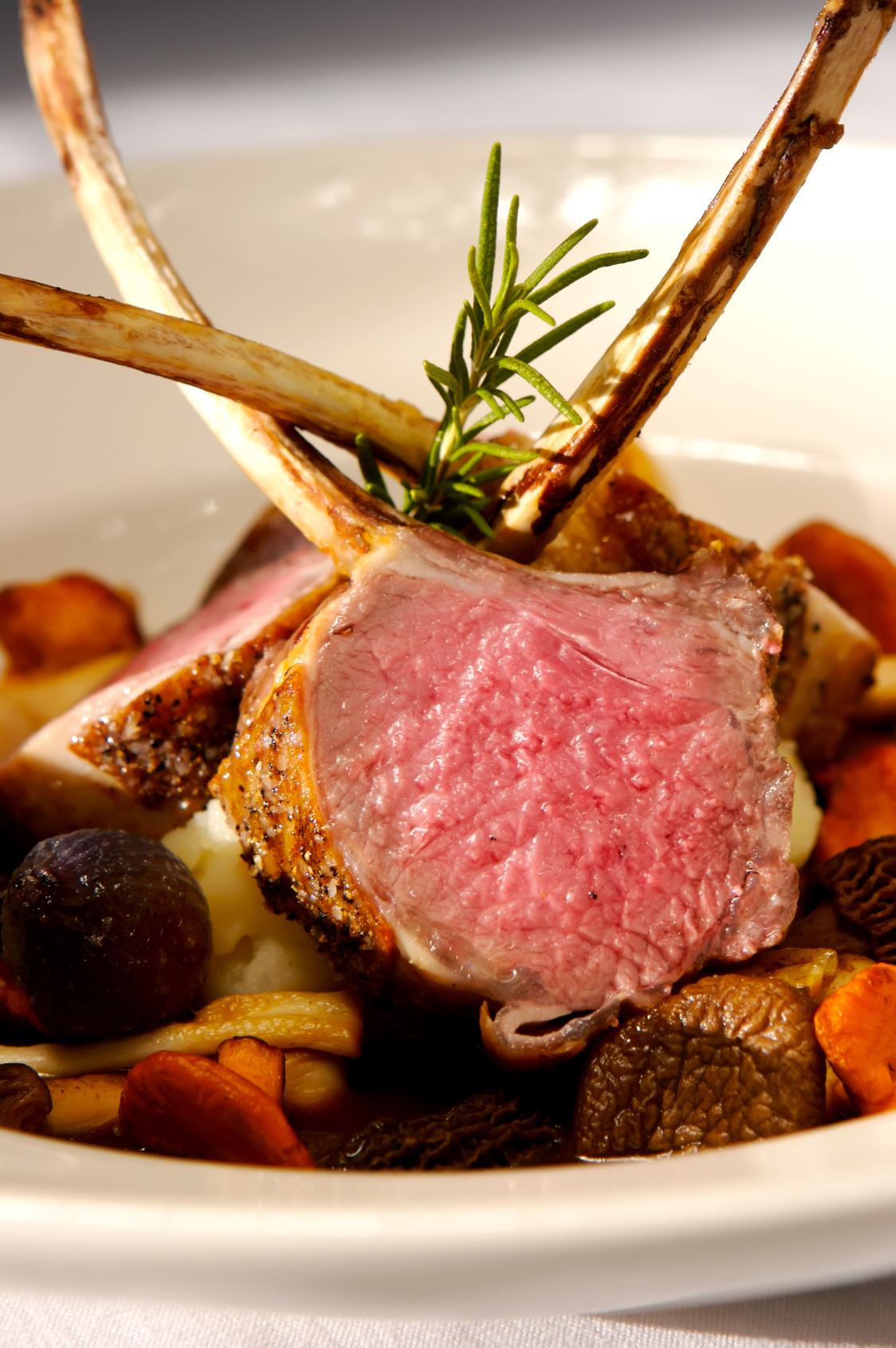 rack of roast rack of lamb with oven roasted rack of lamb roast rack ...