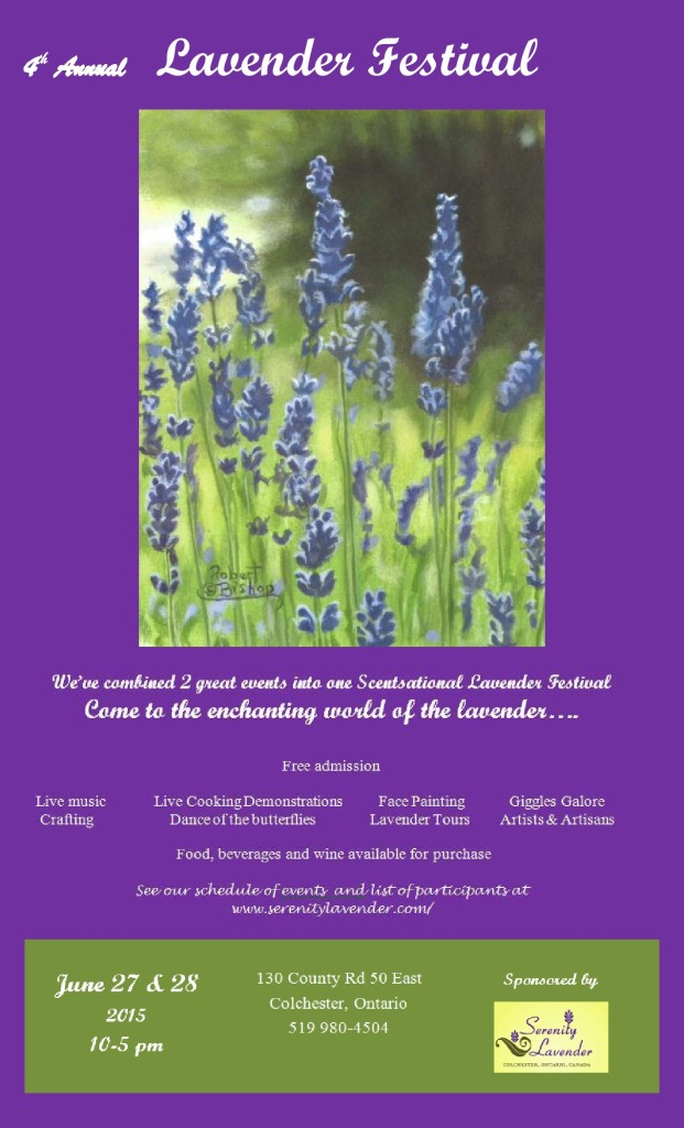 Lavender Fest 2015